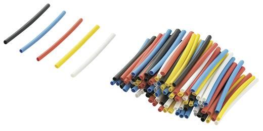 Tru Components zsugorcső utántöltő készlet, 2:1, 40 mm, színes, 125 db, RPS2