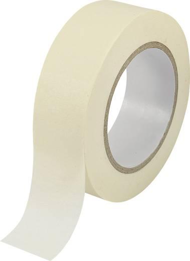 Krepp maszkoló szalag, ragasztószalag, enyhén kreppelve 1db 50 m x 38 mm Bézs színű Conrad SW10-149