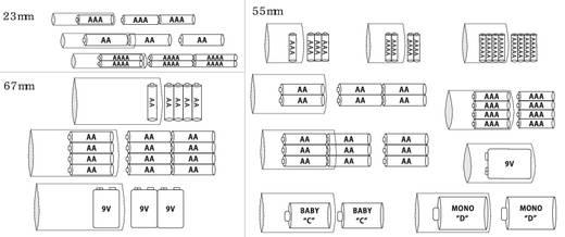 Tru Components akku zsugorcső készlet, 2:1, átlátszó, 3 db