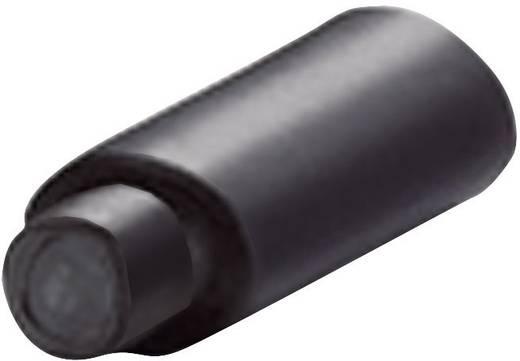 PEC zsugorcső sapka Ø (zsugorodás előtt/után): 9 mm/3 mm, zsugorodási arány 3 : 11 csomag, fekete