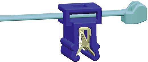 Kábelkötegelő kábeltartóval 200 x 4,6 mm, fekete, 1 db, HellermannTyton 156-00570 T50ROSEC4A-PA66W_D1