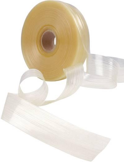 Hőre olvadó ragasztószalag zsugorcsövekhez, Helashrink® HMT200AØ (zsugorodás előtt/után): /1 tekercs, átlátszó
