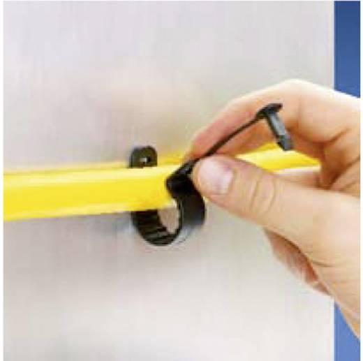 Pan-Clamp™ rögzítő bilincs patenttal Köteg Ø: max. 25.4 mm PC100-H25D-C0 Fekete Panduit Tartalom: 1 db