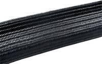 Fonat védőtömlő Fekete Poliamid 6.6 4 ... 8 mm HellermannTyton 170-40600 HEGPA6606 méteráru HellermannTyton