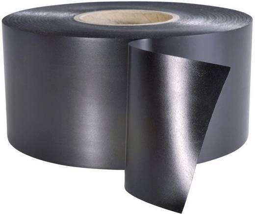 Szigetelőszalag (H x Sz) 30 m x 38 mm, fekete PVC HelaTape Wrap 25 HellermannTyton, tartalom: 1 tekercs
