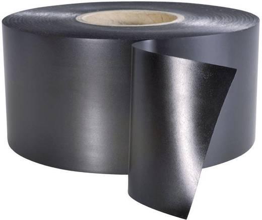Szigetelőszalag (H x Sz) 30 m x 50 mm, fekete PVC HelaTape Wrap 25 HellermannTyton, tartalom: 1 tekercs