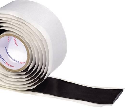 Repair tape HellermannTyton HelaTape Power 750 Fekete (H x Sz) 1.5 m x 38 mm Kaucsuk Tartalom: 1 tekercs