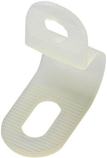 Rögzítő bilincs PC-0406 Fehér KSS Tartalom: 1 db