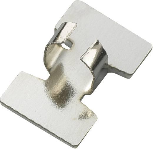 Öntapadó kábelbilincs, ezüst, tartalom: 1 db Ø 9,5 mm
