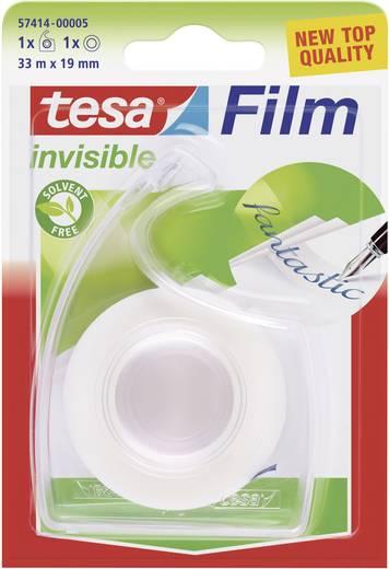 Feliratozható ragasztószalag Tesafilm® Invisible 33 m x 19 mm átlátszó TESA 57414