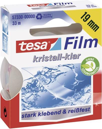 Kristálytiszta ragasztószalag Tesafilm® Crystal-Clear 33 m x 19 mm TESA 57319