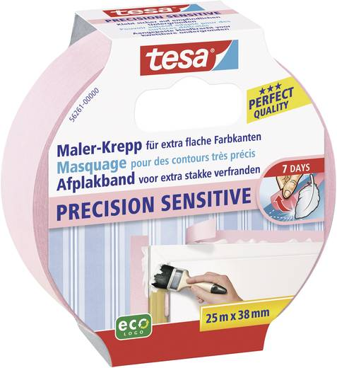 Krepp maszkolószalag Tesa® Masking Tape Precision Sensitive 25 m x 38 mm TESA 56261