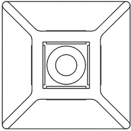 Kábelrögzítő, 26 x 26 mm natúr KSS 28530c88