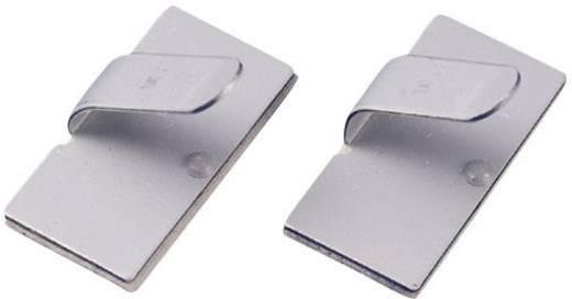 Kábelrögzítő, öntapadó MWCR25 Ezüst KSS