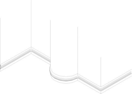 Hajlékony, öntapadó kábelcsatorna 183 x 10.16 x 2.32 cm Fekete KSS