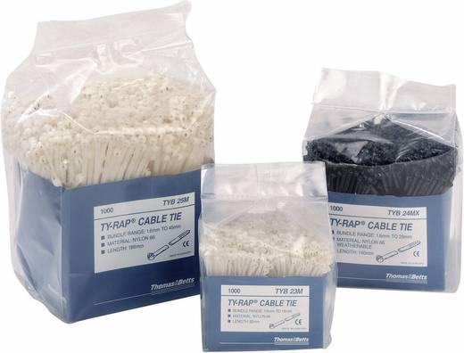 Kábelkötegelő készlet fém nyelvvel 92 x 2,4 mm, natúr, 1000 db, ABB TYB23M