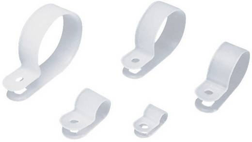 Kábel rögzítőbilincs, átm. 12,7 mm / furat 5 mm