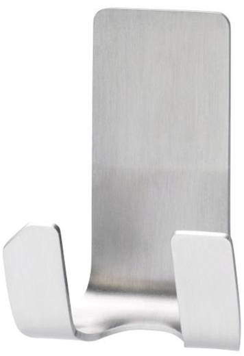 Vízálló fali borotva tartó, fém, Tesa Powerstrips 59709, 1 db