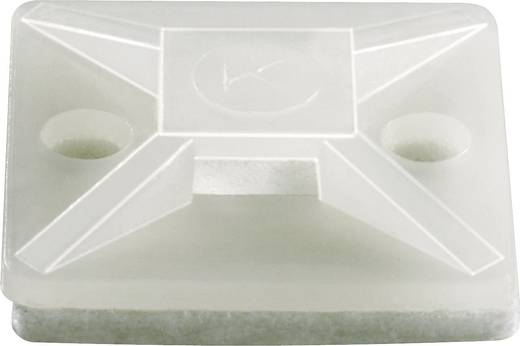 Kábelrögzítő, 19 X 19 mm natúr KSS HC101S