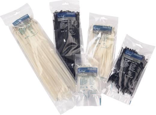 Kábelkötegelő készlet fém nyelvvel 340 x 6,9 mm, fekete, 50 db, ABB TY527MXR
