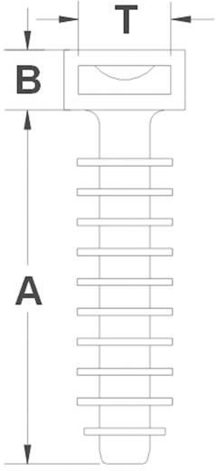 Fali dübel CHR8 Fekete KSS Tartalom: 1 db