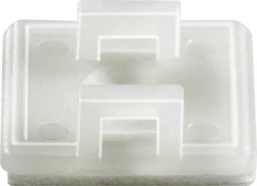 Kábelrögzítő, 19 X 19 mm natúr KSS HC18T