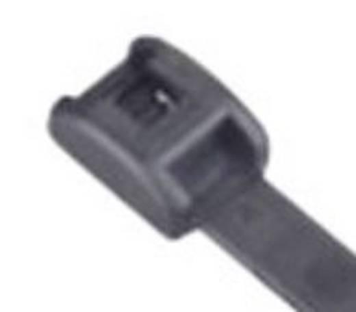 Alacsony profilú kábelkötegelő készlet, 118 x 2,4 mm, fekete (UV álló), 100 db, ABB MCV-200