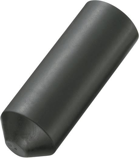 Zsugorcső véglezáró 20 mm/6 mm 1db fekete színű