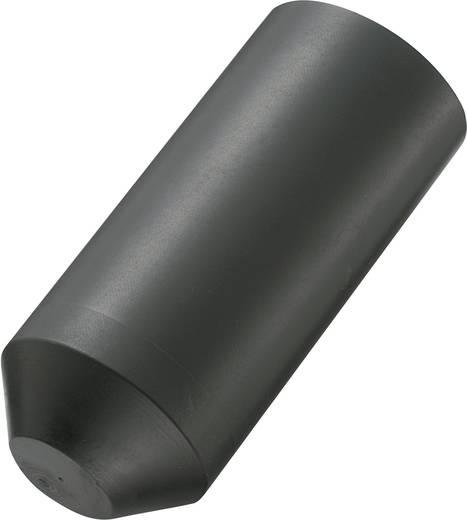 Zsugorcső véglezáró 35 mm/16 mm 1db fekete színű