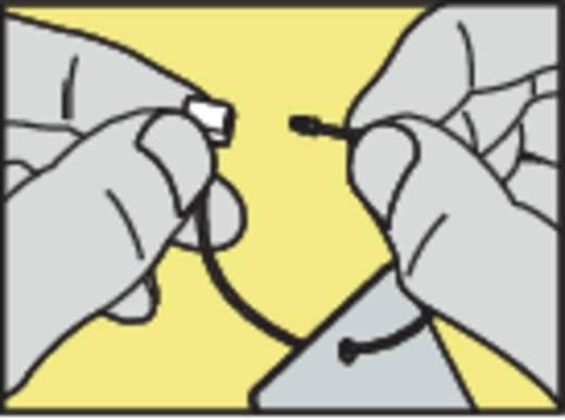 Gömb-gyöngyös biztonsági kábelkötegelő 135 mm, natúr, 1 db, Kash Q-CLIP Lite