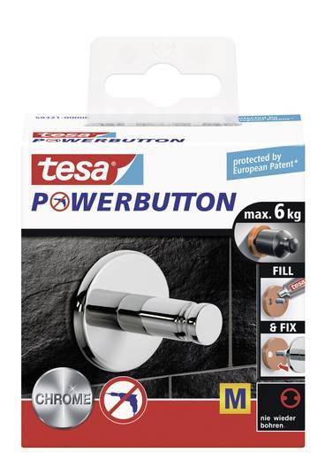 Univerzális akasztó gomb Ø 36 x 35 mm, Tesa Powerbutton 59321