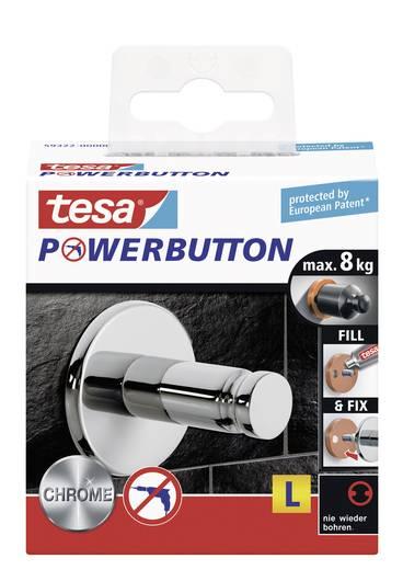 Univerzális akasztó gomb Ø 42 x 40 mm, Tesa Powerbutton 59322