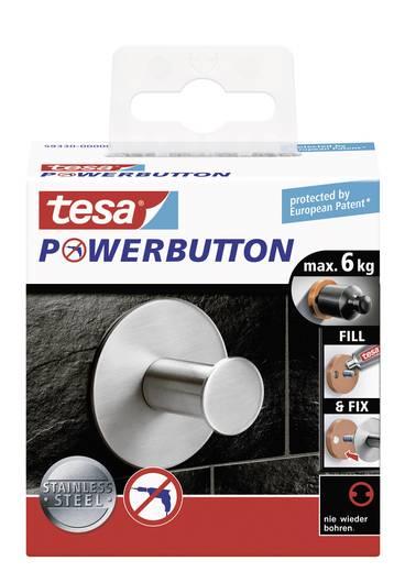 Klasszikus akasztó gomb Ø 50 x 31 mm, Tesa Powerbutton 59330