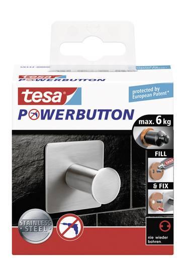 Klasszikus akasztó gomb 45 x 45 x 31 mm, Tesa Powerbutton 59332