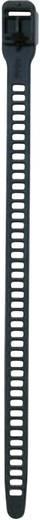 SOFTFIX® kábelkötöző, nyitható (H x Sz) 340 mm x 11 mm SOFTFIX-L-TPU-BK-W Szín: Fekete 6 db HellermannTyton