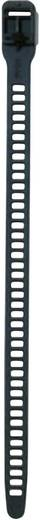 SOFTFIX® kábelkötöző, nyitható (H x Sz) 340 mm x 11 mm SRT34011 Szín: Fekete 1 db HellermannTyton