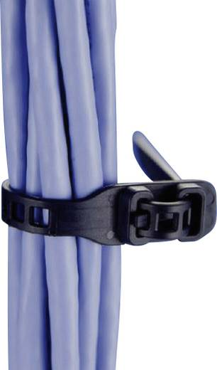 SOFTFIX® kábelkötöző, nyitható (H x Sz) 260 mm x 11 mm SRT26011 Szín: Fekete 1 db HellermannTyton