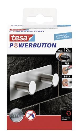 Klasszikus akasztó gomb 109 x 45 x 31 mm, Tesa Powerbutton 59333