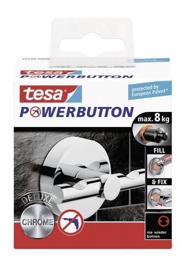 Delux akasztó gomb Ø 49 x 36 mm, Tesa Powerbutton 59340