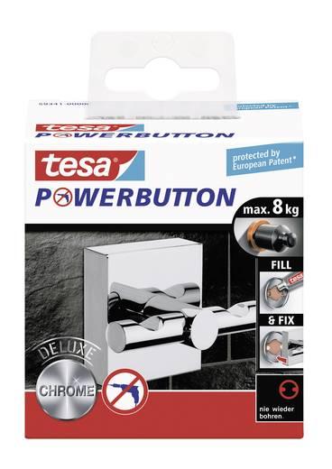 Delux akasztó gomb 50 x 50 mm, Tesa Powerbutton 59341