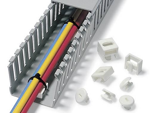 Rögzítő elem, ZP1, fehér 1 db ZP1-N6-WH HellermannTyton, tartalom: 1 db