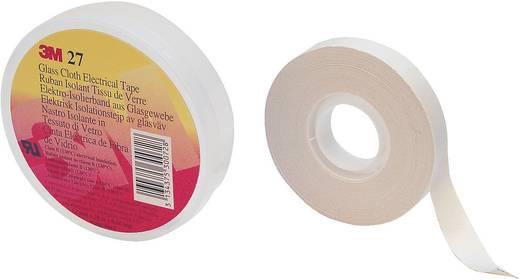 Üvegszálas szövet szalag (H x Sz) 20 m x 12 mm, fehér, ütésálló/törésmentes SCOTCH 27 3M, tartalom: 1 tekercs