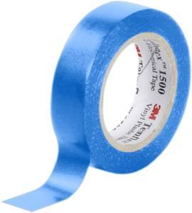 PVC elektromos szigetelőszalag, 10 m x 15 mm, kék, 3M Temflex 1500 3M
