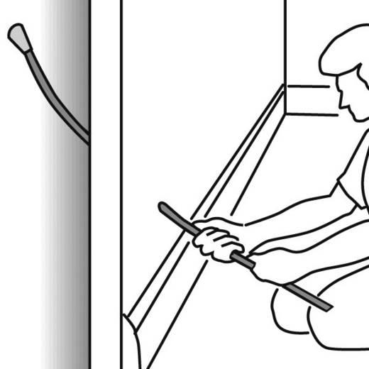 Kábelhúzás segítő bővítő rudak 897-90005 HellermannTyton 2 db