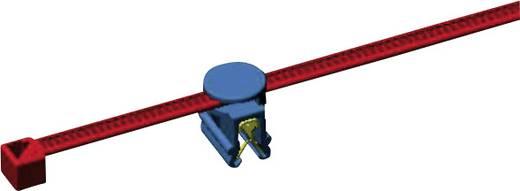 Kábelkötegelő kábeltartóval 200 x 4,6 mm, fekete, 1 db, HellermannTyton 156-01601 CBTO50R-PA66-BK-D1