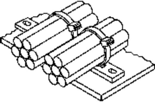 Kábelrögzítő léc, MP, MSMP MP4M3-N66-NA-C1 Natúr HellermannTyton Tartalom: 1 db