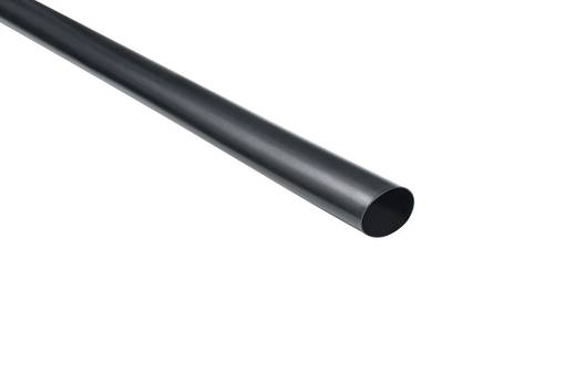 Vékony falú zsugorcső, TA37Ø (zsugorodás előtt/után): 12 mm/4 mm, zsugorodási arány 3 : 11 m, fekete