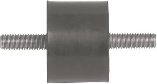 PB Fastener menetes rezgéscsillapító, fekete, 110004