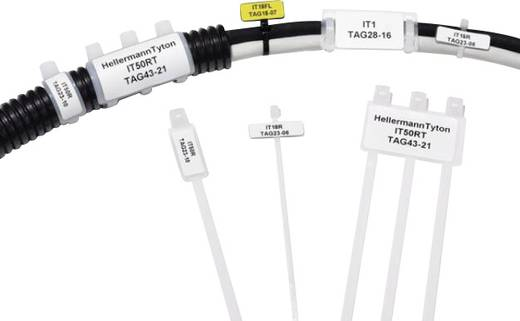 Kábelkötöző feliratozható felülettel (H x Sz x Ma) 203 x 28 x 12.9 mm IT50R-PA66-NA-C1 Szín: Natúr 1 db HellermannTyton