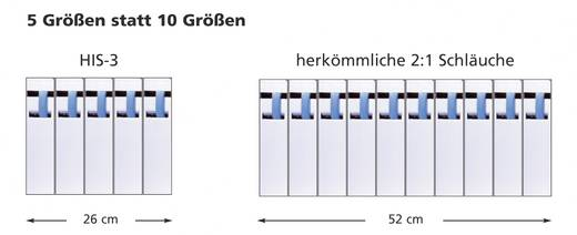 Adagoló doboz, HIS-3 Ø (zsugorodás előtt/után): 6 mm/2 mm, zsugorodási arány 3:15 m, átlátszó